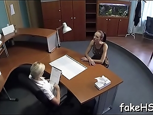 Outstanding orgasms for a sexy doctor