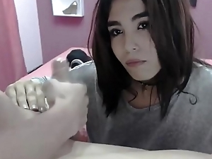 Staggering Blowjob - Shemale Webcam Show