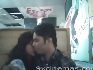 Indian Lovers Fucking At restaurants