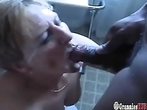 Two Grannies Satisfy A Ensemble Of Sizzling Mature Guys