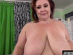 Big Boobed BBW Son Lynn sucks plus fucks