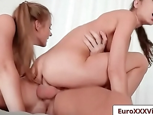 Euro Sex Party - Gina Loves Swaberry with Gina Gerson and Swaberry Baby clip-06