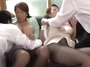Busty Japanese Mom And Youthful Sons