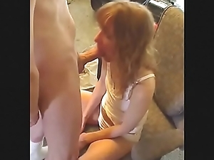 Little Redhead Sister In All White Cotton Molested