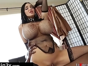 Amy Anderssen and Her Huge Tits Fucked wide of Lexs Amazing Cock